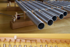 Instrumente für Klangarbeit, Röhrengongs, Klangrohre, Klangspiele